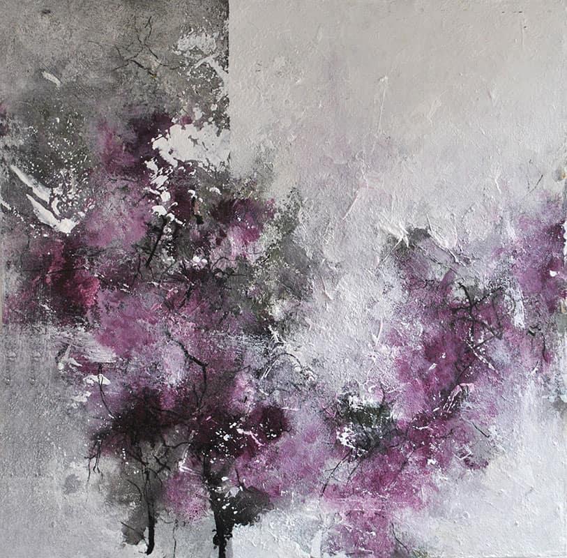 abstrakte-malerier-viser-et-af-de-nyeste-malerier-i-20x25-cm-med-titlen-blooming-hope-malet-af-louise-sellebjerg