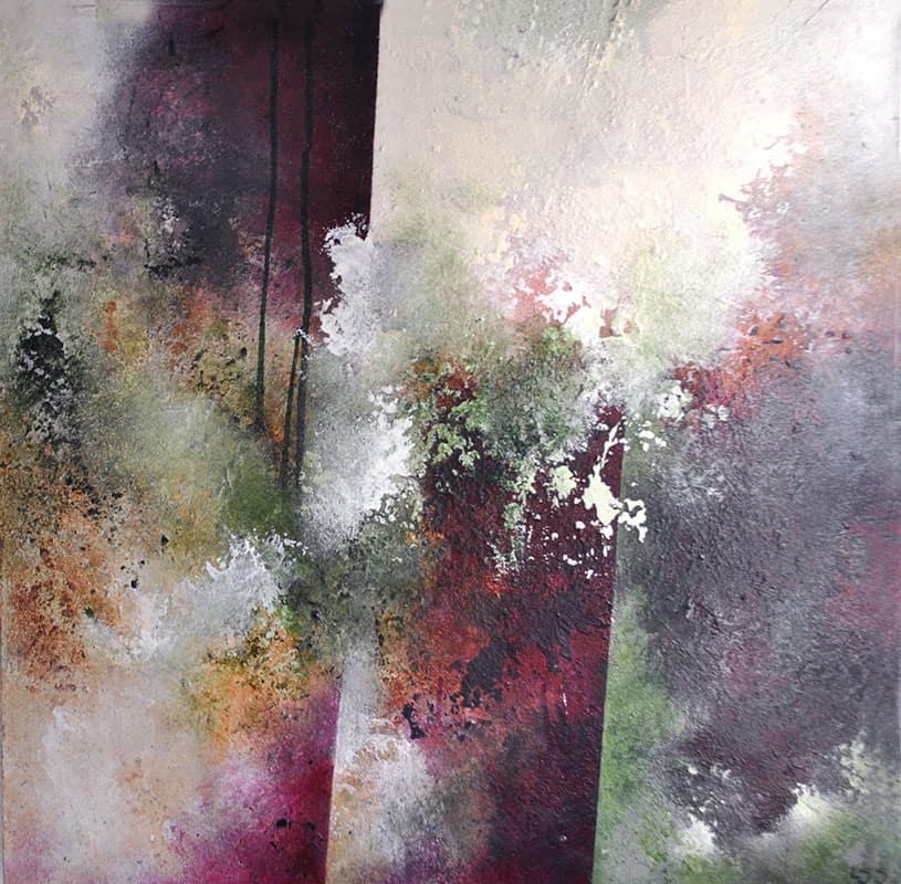 abstrakte-malerier-viser-det-abstrakte-maleri-in-mind-40x40-cm-malet-af-louise-sellebjerg