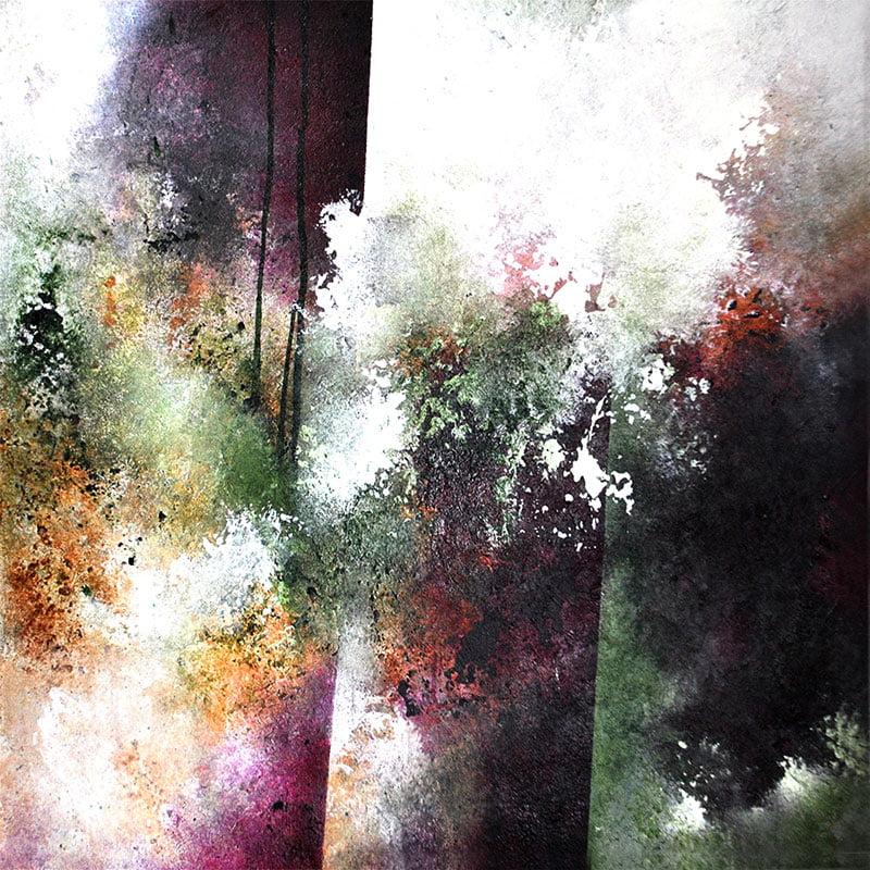 abstrakt-kunstner-viser-det-abstrakte-floweing-60x60cm-malet-af-louise-sellebjerg