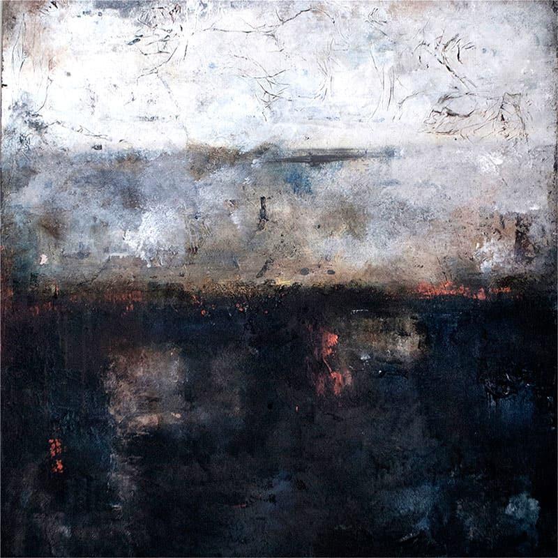 kunstforening-viser-det-abstrakte-maleri-quiet-night-60x60cm-malet-af-louise-sellebjerg